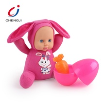 10 inch newborn handmade vinyl silicone play house toys baby doll alive with surprise egg