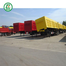 China 40 Ton CIMC Quality Lower Cost 3 Axles Hydraulic Dump Tipper Semi Trailer For Sale