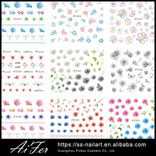 Wholesaler Price New Style Fashion Nail Art Decoration Decals Nail Dry Flower