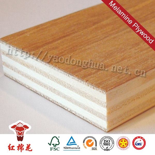 Commercial used mr glue chinese glossy polyboard plywood china foshan