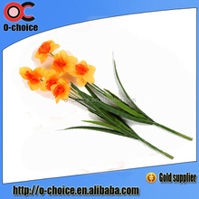 Artificial flower wholesale lily flower with 3 horns for decoration
