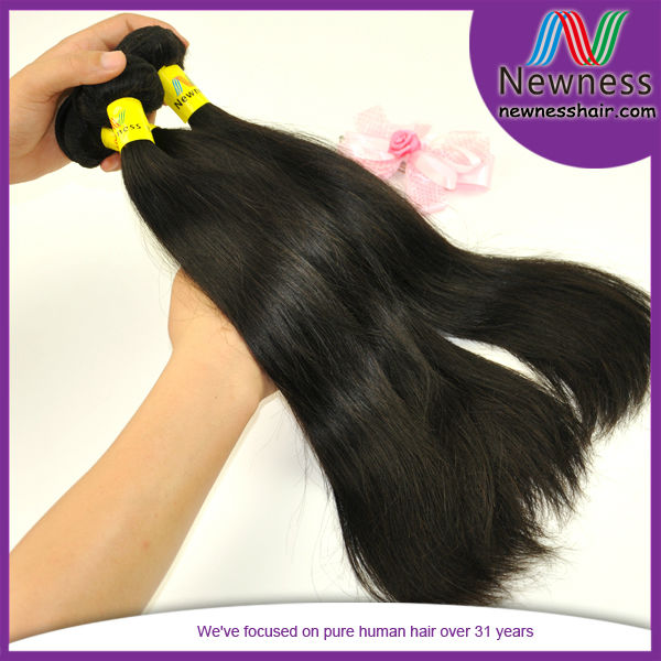 Paypal accept dropshipping natural color can be bleach&dye 5a grade wholesale unprocessed virgin brazilian remy hair