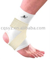 Elastic Ankle Support with straps Ankle Protector China Manufacturer