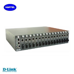 D link HUAWEI SNMP 16 port media converter chassis managed DMC-1100