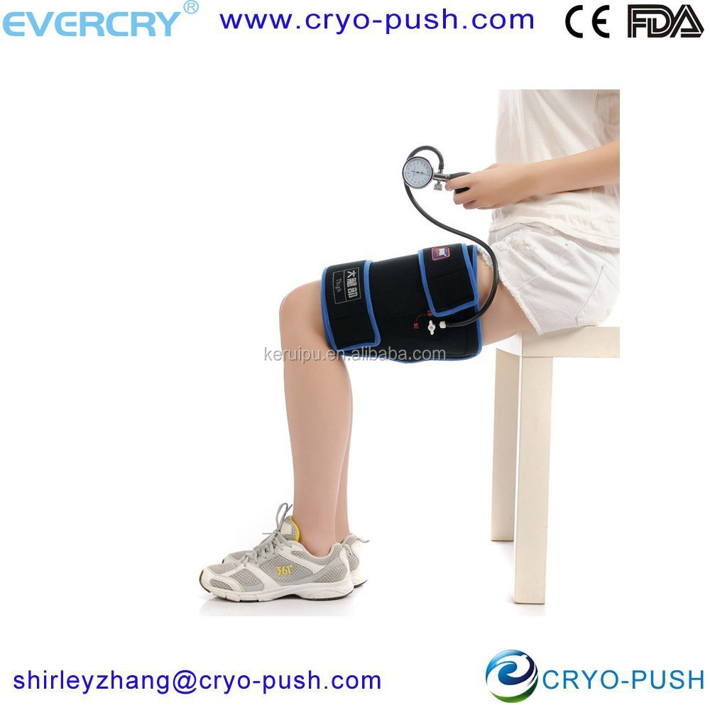 reusable gel beads hot cold therapy pack fit for thigh
