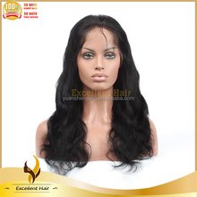 100% Human Hair Full Lace Wig With Soft Hair Net