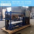 2T Direct Cooling Aluminium Freezing Plate Block Ice plant