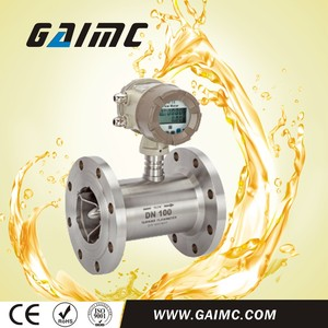 GTF300 Turbine type water oil DN100 flow meter