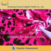 Fashion new design polyester wholesale 80% polyester 20% spandex fabric