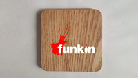 funkin Wooden coaster with high quality