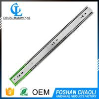 China supplier 3 fold ball bearing telescopic slide for wholesales
