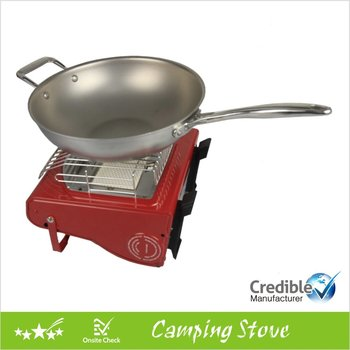 Dual Functional Portable Camping Gas Heater, portable gas stove