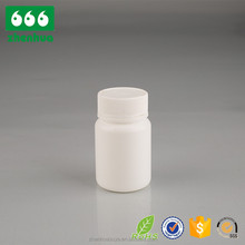 pharmaceutical round bottle plastic tablet holder with crc lids medicine use empty hdpe