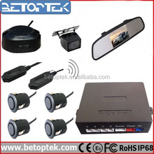4.3 inch Mirror Monitor Back Up Car Camera Rearview Mirror Parking Sensor