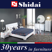 King Size Bed Dimensions White Platform Modern Bed Frame