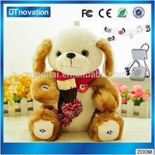 Factory wholesale musical teddy bears bluetooth plush toys
