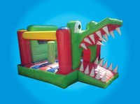 Inflatable Crocodile Bounce House 3x4m