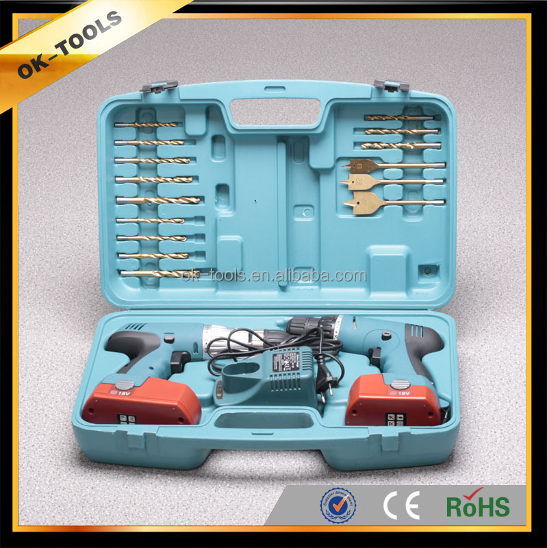 2014 new made in china modern best wholesale alibaba hangzhou electrical tool 18V combo kit