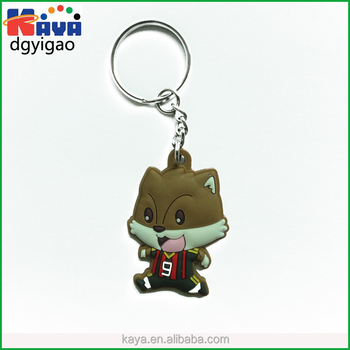 Wholesale custom keychain maker for PVC promotion gifts