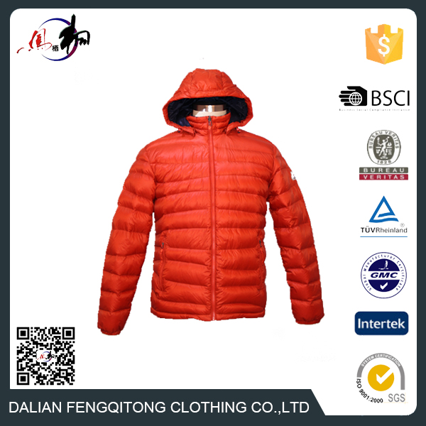 Fashion Winter Jacket Men Sport Coat White Goose Down Jacket