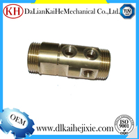 best seller water packaging machine custom cnc machined pipe tyre copper fittings machinery