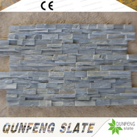 Interior And Exterior Wall Cladding Stone Natural Grey Slate Tile
