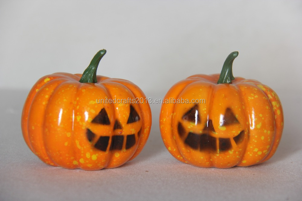 Fake plastic foam pumpkin artificial fruits and vegetables decorations for halloween