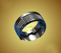 custom fabrication knurled stainless steel spacer ring knurled stainless steel lock ring knurled sleeve spacer