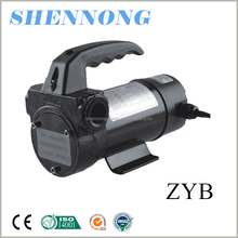 ZYB series DC 12V 24V low pressure self priming oil pump