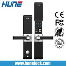 Remote Control Electronic Keyless Smart Fingerprint Door Lock For Home