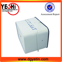 Rectangle high quality metal laundry powder tin boxes with handle