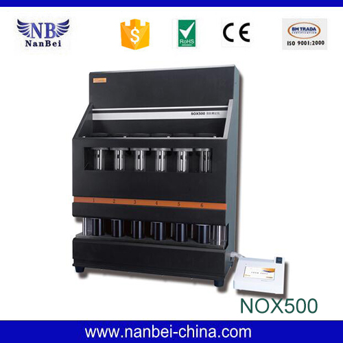 Automatic soxhlet extraction apparatus lab fat analyzer