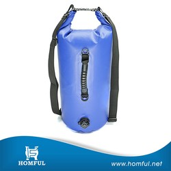 Premium Waterproof Bag, Sack with phone dry bag and long adjustable Shoulder Strap Included, Perfect for Kayaking / Boating / Ca