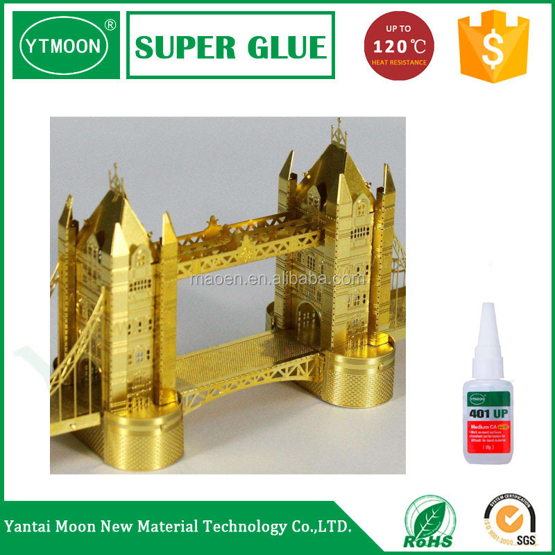 Quick bond clear glue
