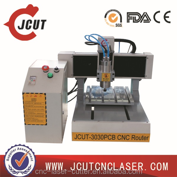 2014 Hot Sale 3030 Mini CNC Router Engraver Drilling and Milling Machine for PCB, Double Color Plate,Nameplate