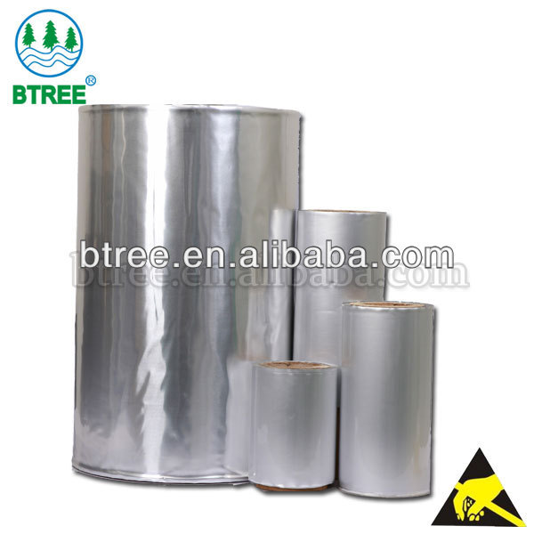 Btree Aluminium Coated Film For Electronics Packaging Bags