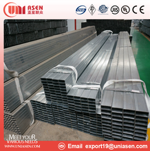 Tianjin Manufacturer Q195 ERW Welded Rectangular Steel Pipe / Tube/ Hollow Section for Building