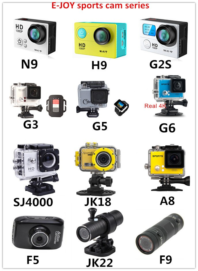 2018 New products Waterproof promotion real 4K@30FPS sports camera 4k