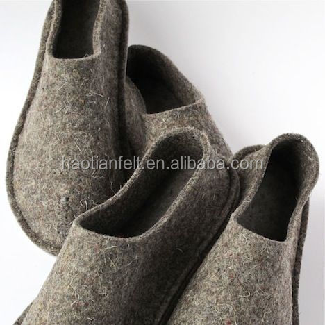 felt shoes /slippers wool felt slipper for european russia