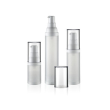 15ml 30ml 50ml airless plastic bottle cosmetics containers