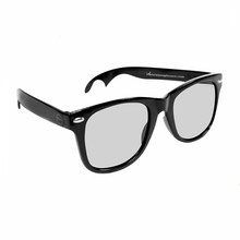 black bottle opener polarized glasses with protective case