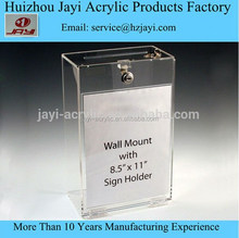 China manufacturer wholesale acrylic wall mounted key storage box