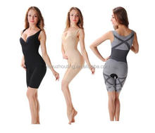Fashion Women Slimming Bamboo Underbust Shaper Corset Body Bodysuit Shapewear