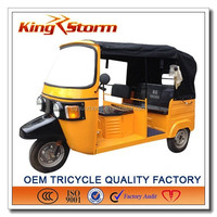 china supplier Good Quality Motorized 3 Wheeler motorcycle Bajaj Tuk Tuk for Sale
