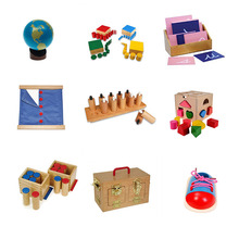 Promotion materiales montessori kids educational toy wood montessori teaching aids
