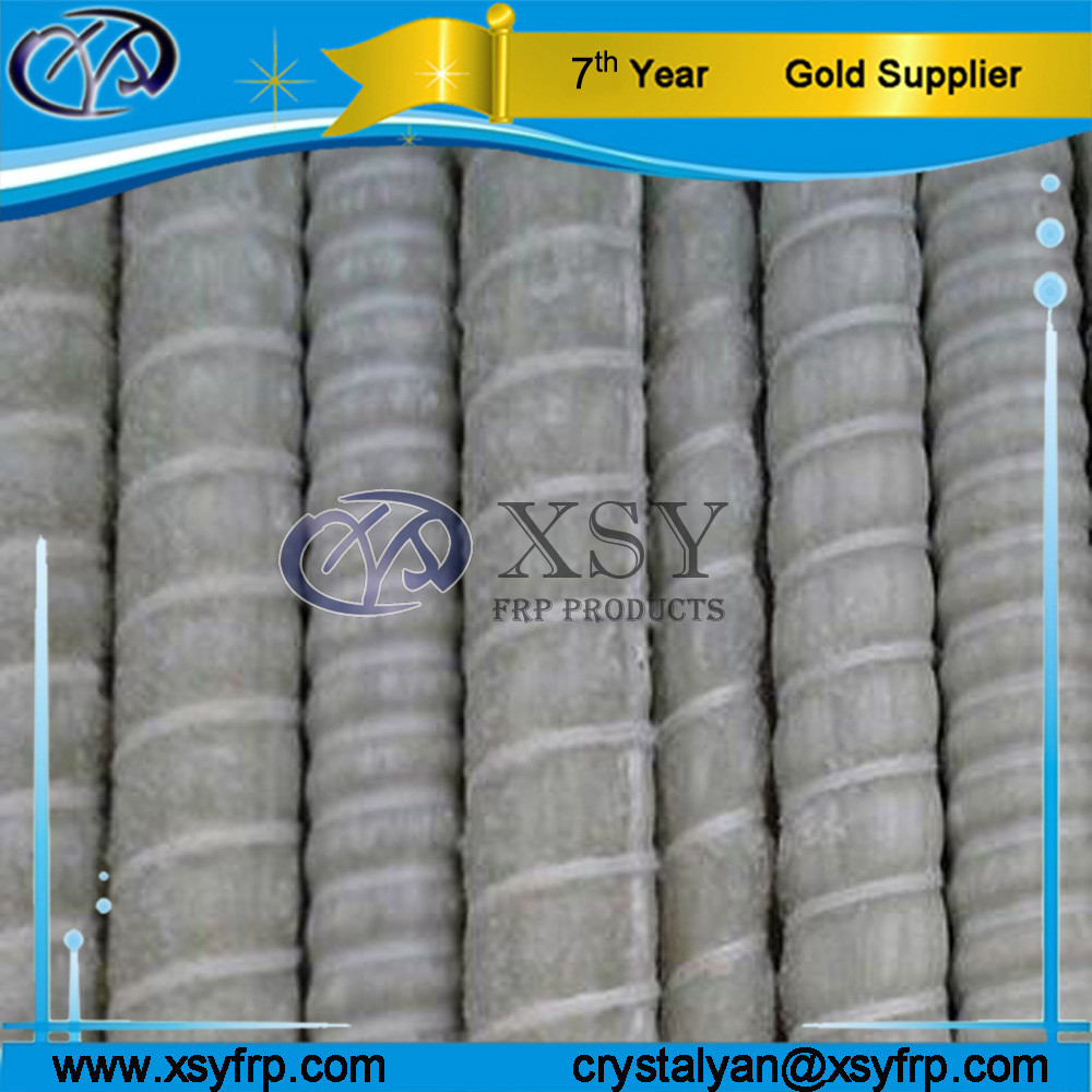 Metro Construction Fiber Glass Reinforced Plastic Rebar / Epoxy Coated Rebar / FRP Rebar