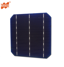 High Efficiency 5.12W to 5.13W A Grade Monocrystalline 3 Busbar Solar Cell for Manufacturing Good Qaulity Mono Solar Panel