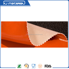 temperature resistance one-sided/double-sided silicone rubber coated fiberglass insulation cloth