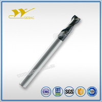2 Flute with Long Shank Length Square Carbide Endmill for Steel or Cast Iron Milling""