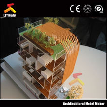 miniature construction models for real estate selling